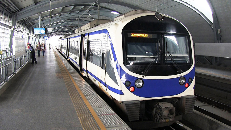 Airport Rail Link in Bangkok