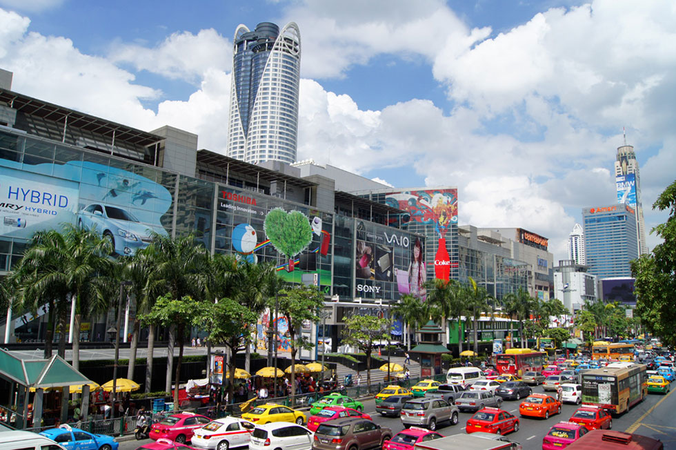 CentralWorld Shopping Mall in Bangkok