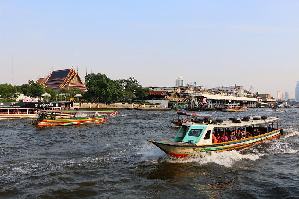 Chao Phraya River Boat