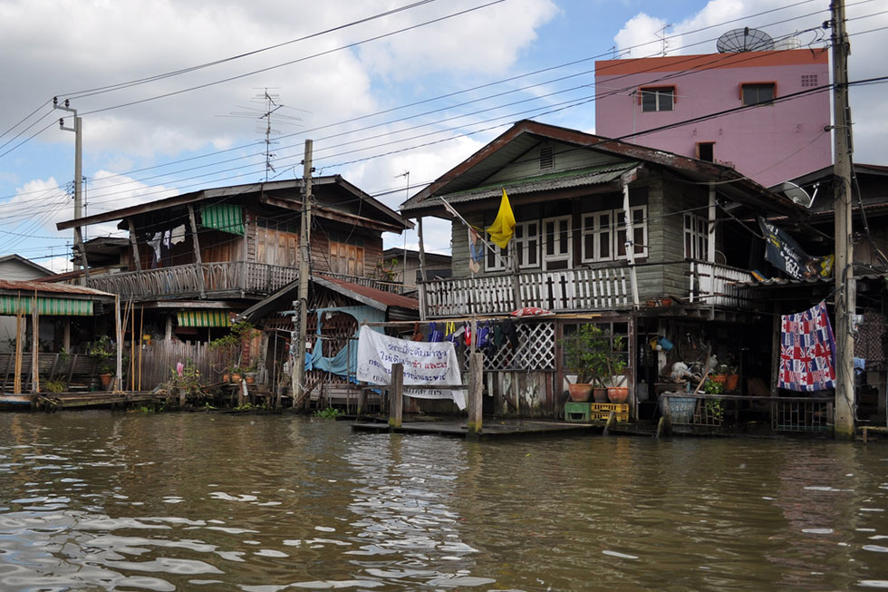 The klongs of Thonburi