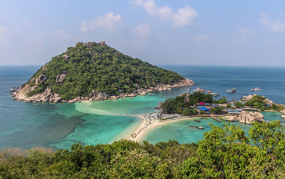 Koh Nang Yuan's incredible Viewpoint