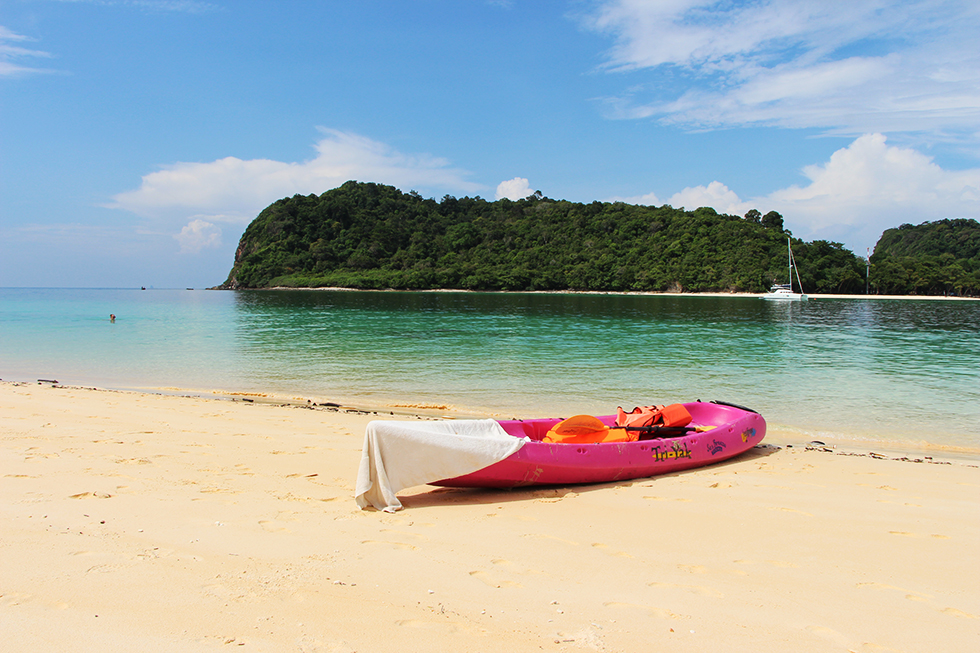 Rent a Kayak and explore the beaches of Koh Rok