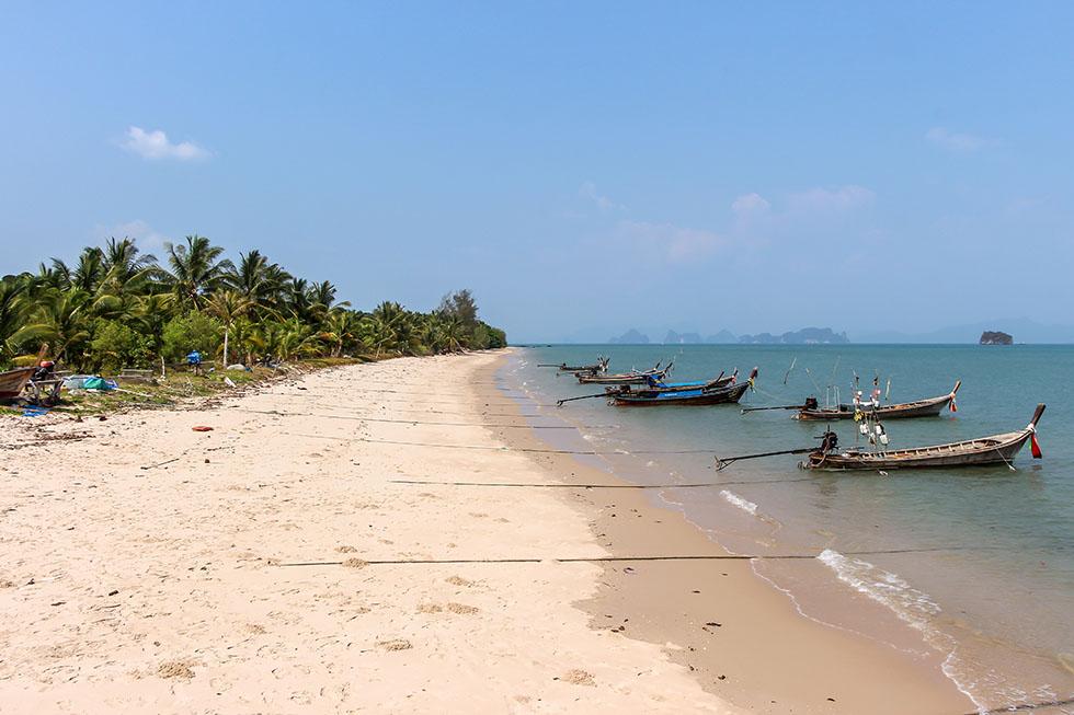 Fishing boats in Koh Yao Yai
