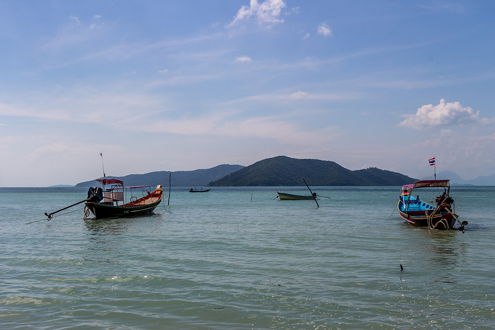 The view from Koh Samui