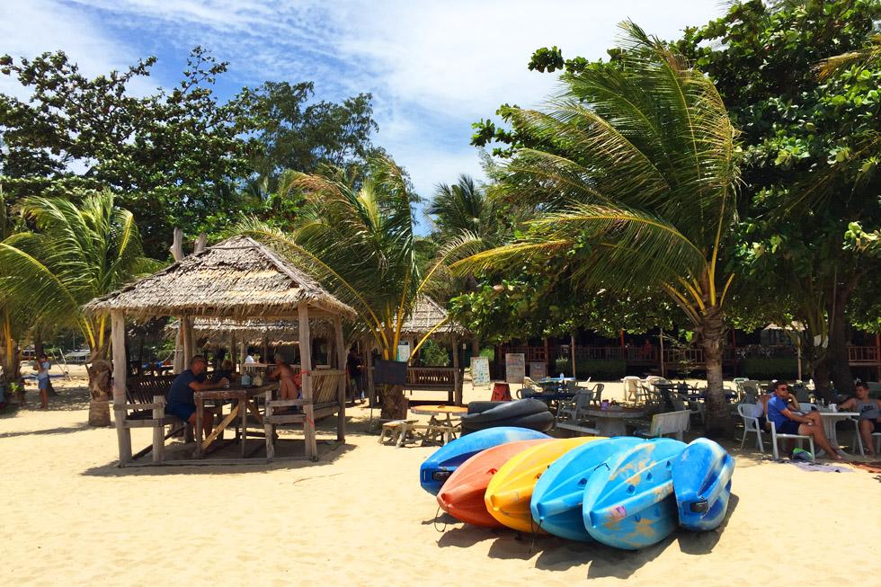 Rent a kayak and explore Koh Mae Island