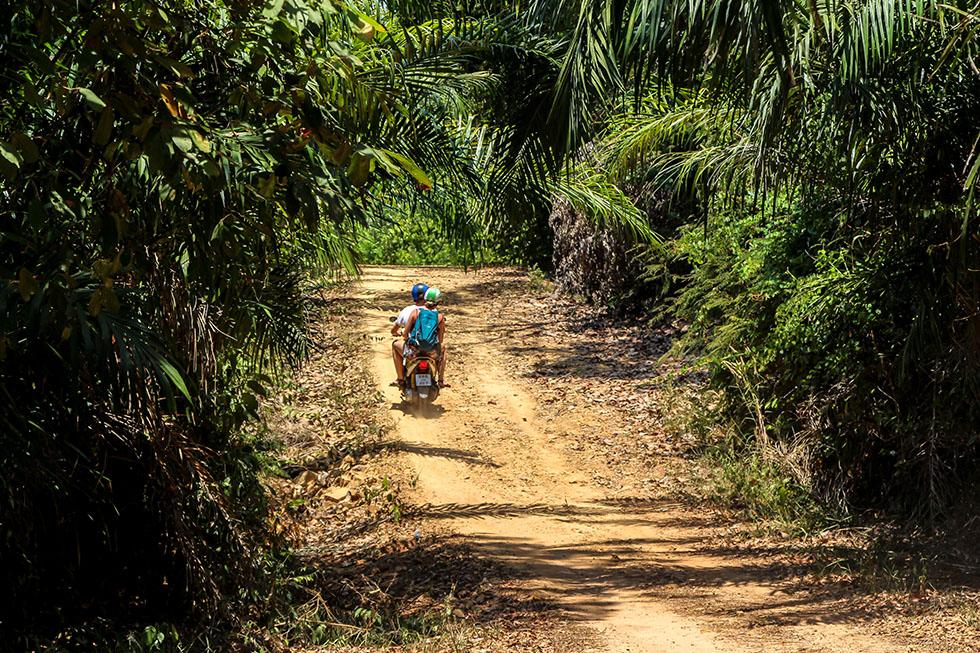 Going offroad in Koh Yao Yai