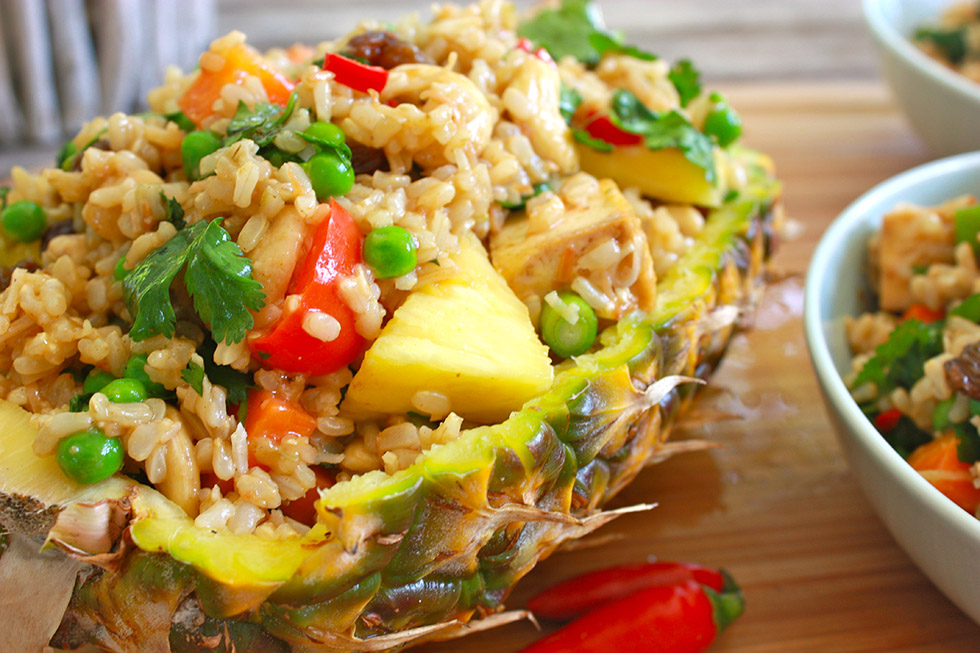 Pineapple Friend Rice