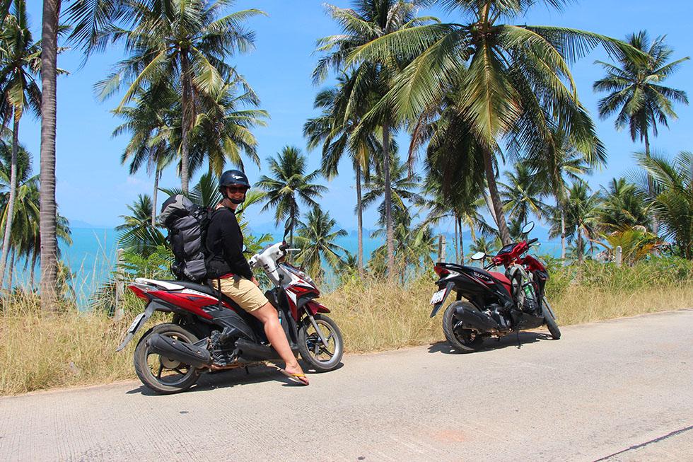 Renting a motorbike in Koh Yao Yai