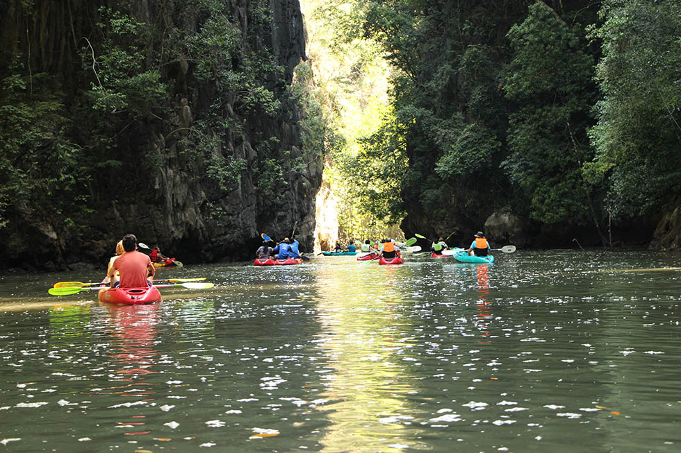 We weren't the only tourists at Tha Lane Bay in Krabi