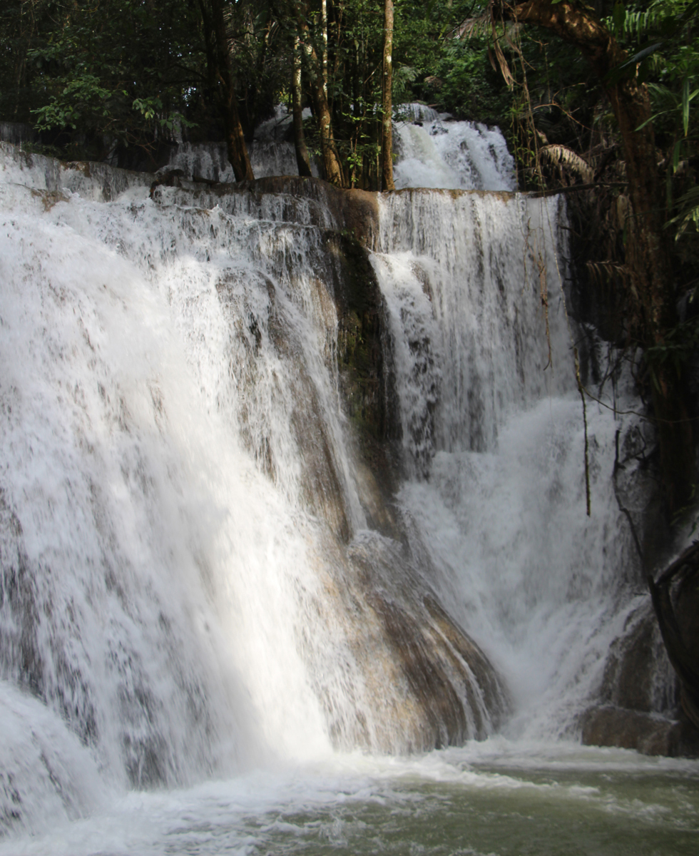 One of many waterfalls at Thung Yai Naresuan Wildlife Sanctuary