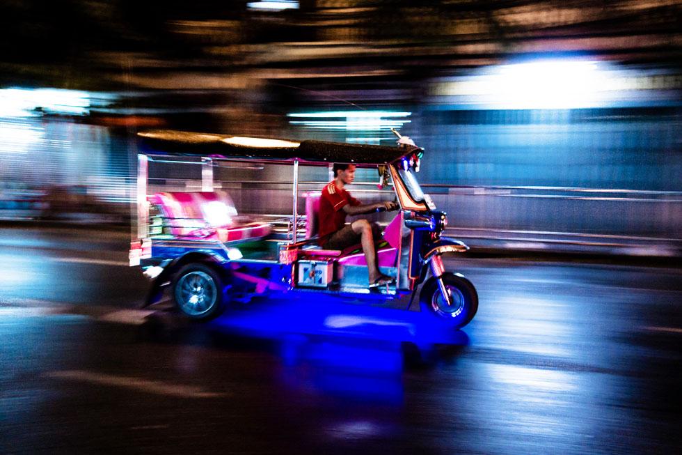 Tuk tuk in Bangkok