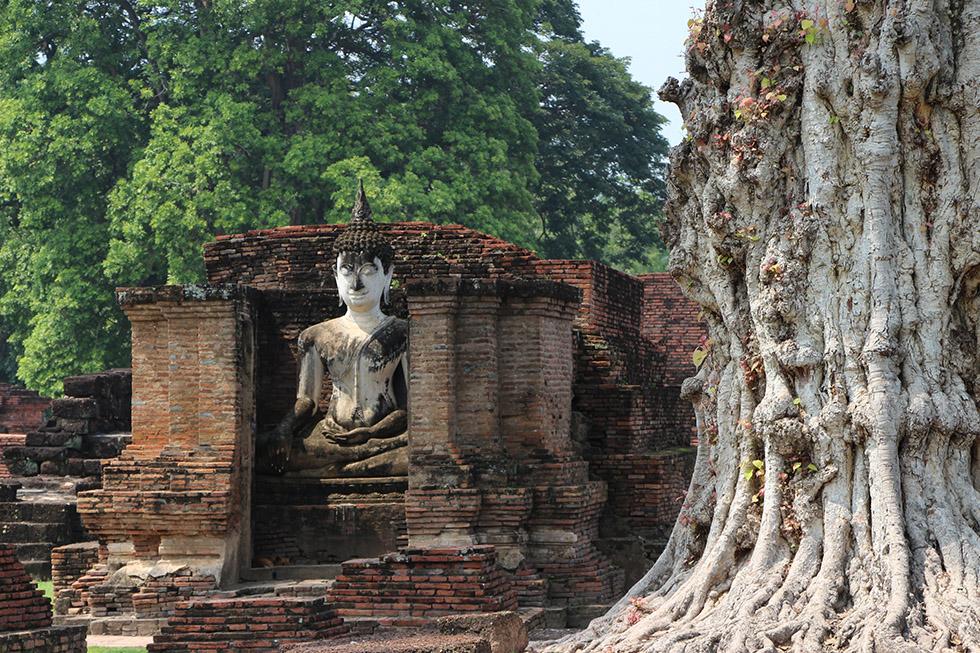 Wat Mahathat in Sukhothai