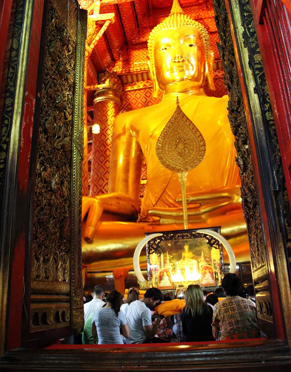 Wat Phanan Choeng in Ayutthaya