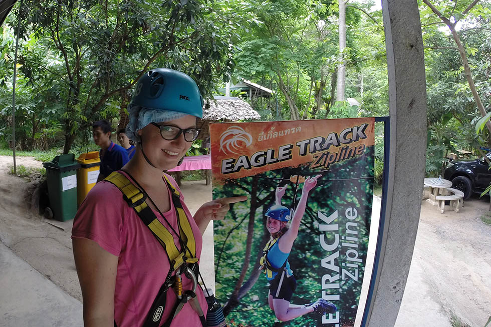 Excited to start! - Ziplining Chiang Mai