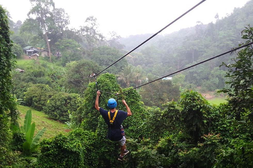 Eagle Track Zipline in Chiang Mai