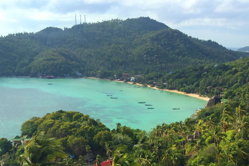 Chalok Bay in Koh Tao