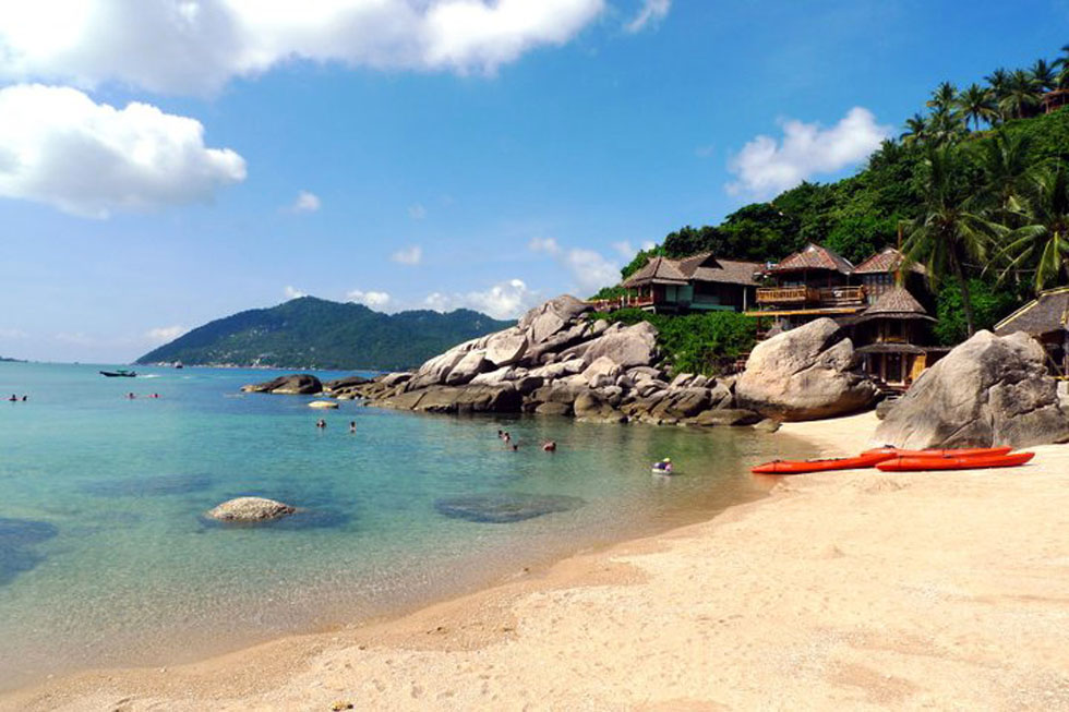 Jansom Bay in Koh Tao