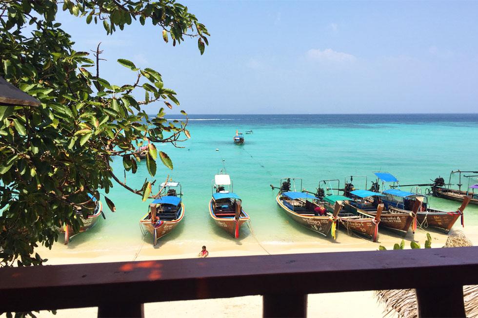 Laem Thong, Golden Bay, in Koh Phi Phi