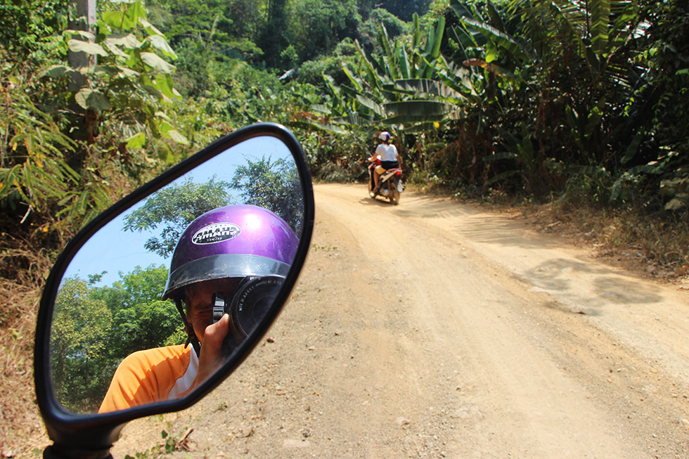 Going off-road on Koh Yao Noi