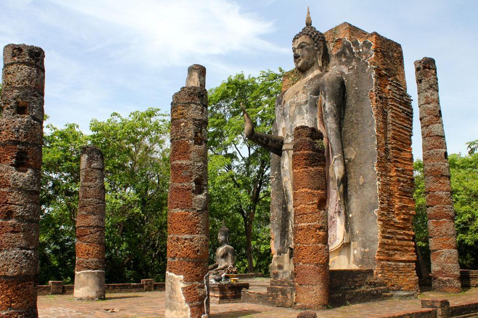 Si Satchanalai Historical Park in Sukhothai