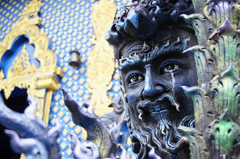 Chiang Rai's Blue Temple