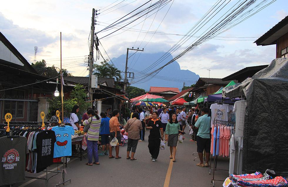 Chiang Dao's Walking Street