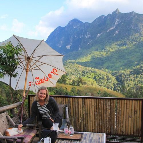Lisu village in Chiang Dao