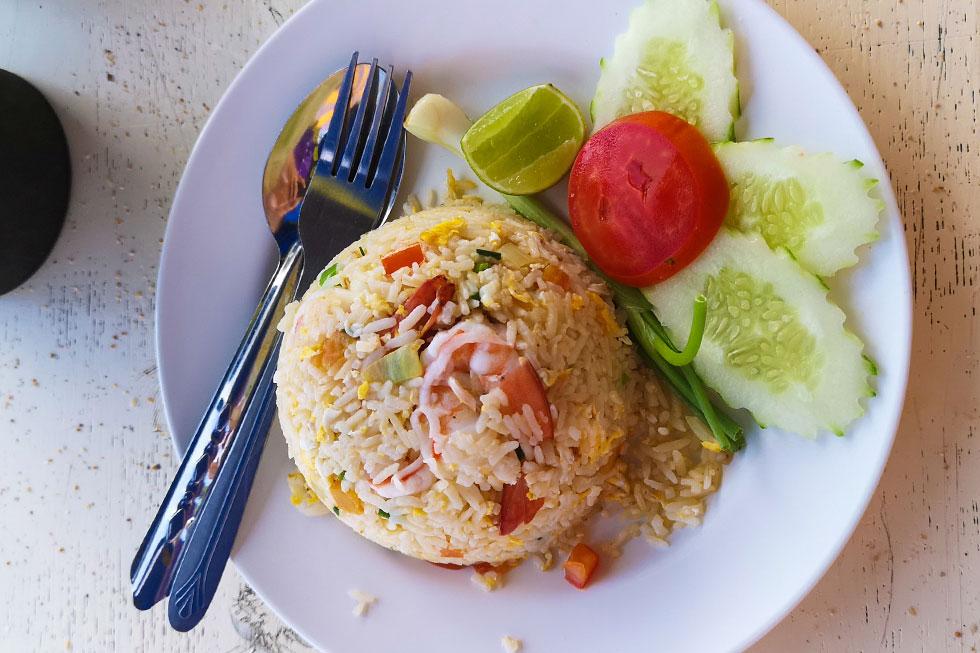 Lunch at Jomtien Beach, Pattaya