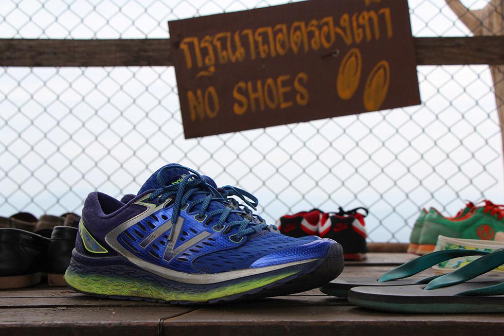 """No Shoes"" - Wat Chalermprakiat in Lampang"