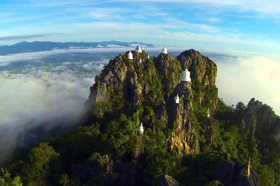 Wat Chalermprakiat from above