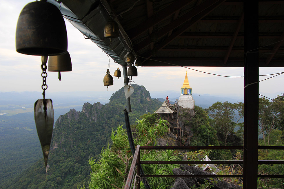Bells at Wat Chalermprakiat in Lampang