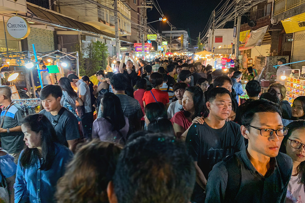 Saturday Walking Street in Chiang Mai