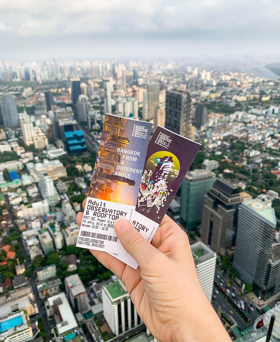 King Power MahaNakhon SkyWalk tickets