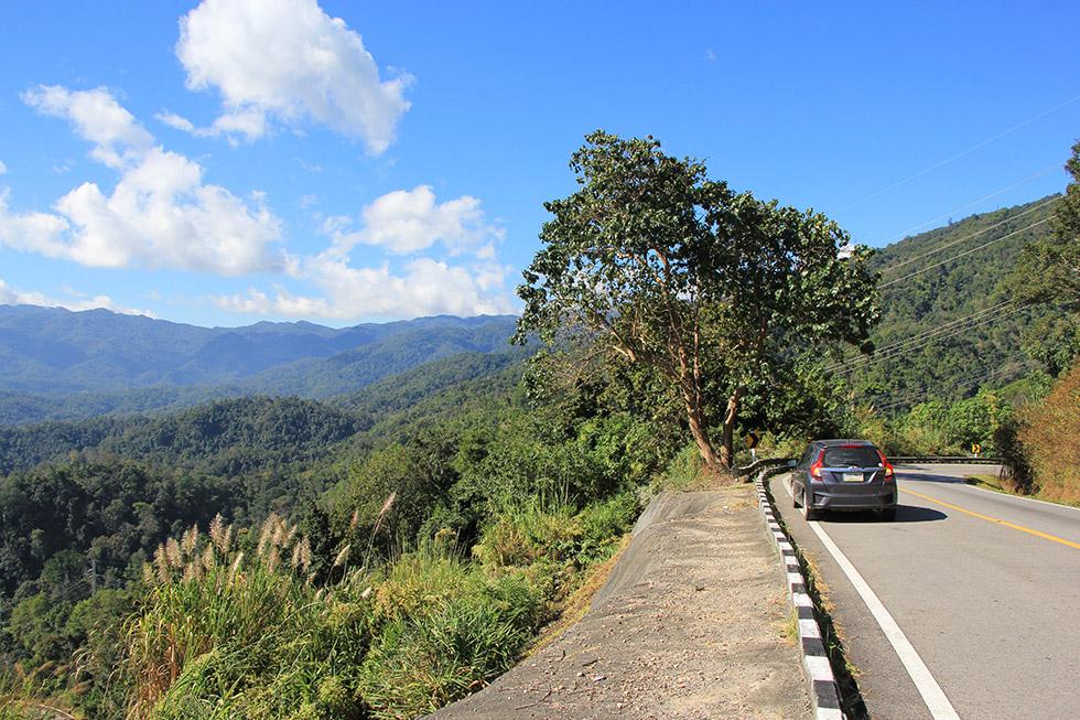 Roadtrip from Pai to Chiang Mai