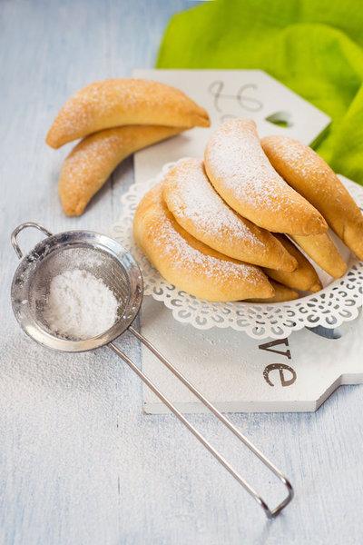 """Печенье """"Бананы"""" с творожной начинкой фото к рецепту 10"""