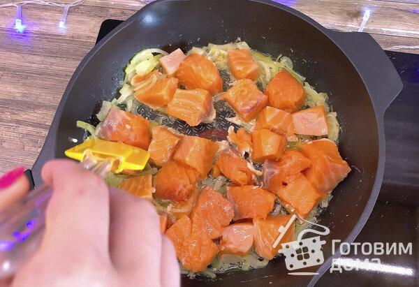 Паста с лососем - пошаговый рецепт с фото на Готовим дома