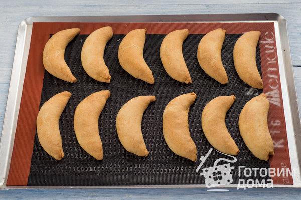 """Печенье """"Бананы"""" с творожной начинкой фото к рецепту 9"""