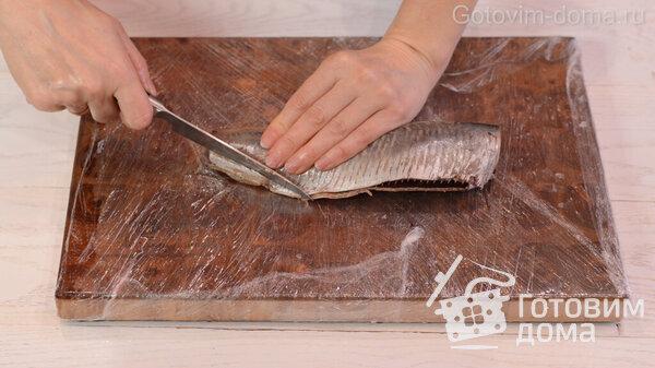 Jak rychle vyčistit sleď na filé bez kostí fotografie na receptu 6