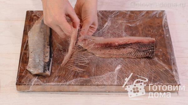 Jak rychle vyčistit sleď na filé bez kostí fotografie na receptu 9