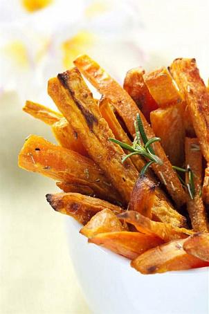 Чипсы из сладкого картофеля с ароматом мескитового дерева ...