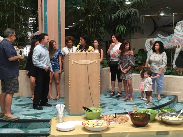 Temple B'nai Jacob Thanks Rabbi David Abrams