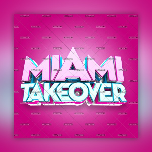 Miami Take Over 3D