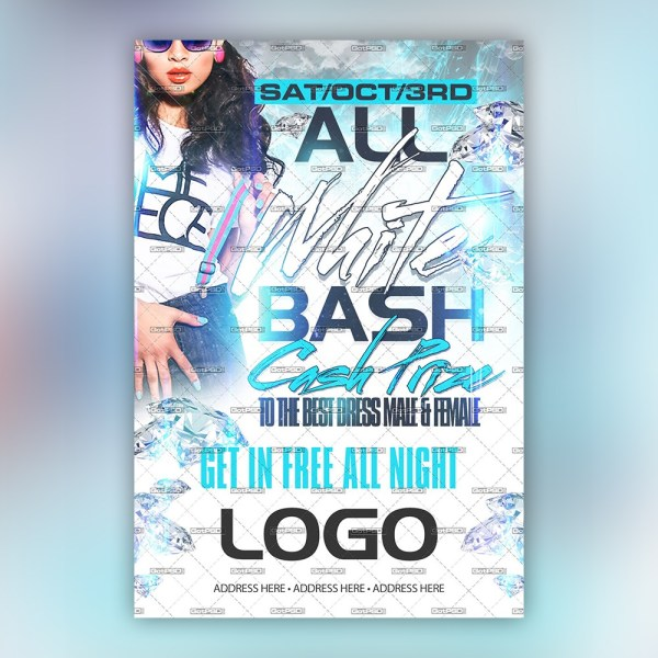 All White Bash 1