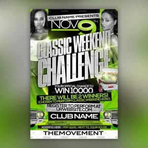 Classic Weekend Challenge