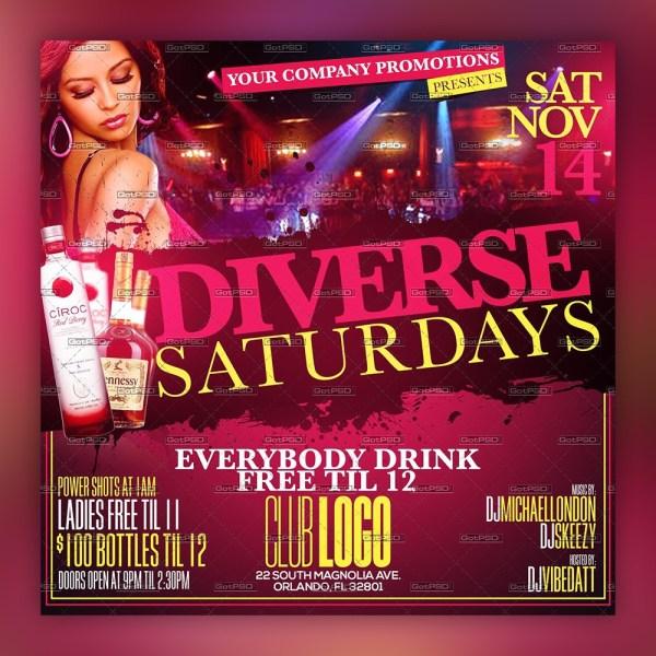 Diverse Saturdays - 5x5 1