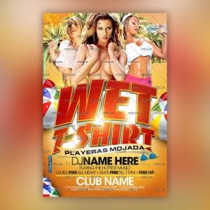 Wet T-Shit Flyer