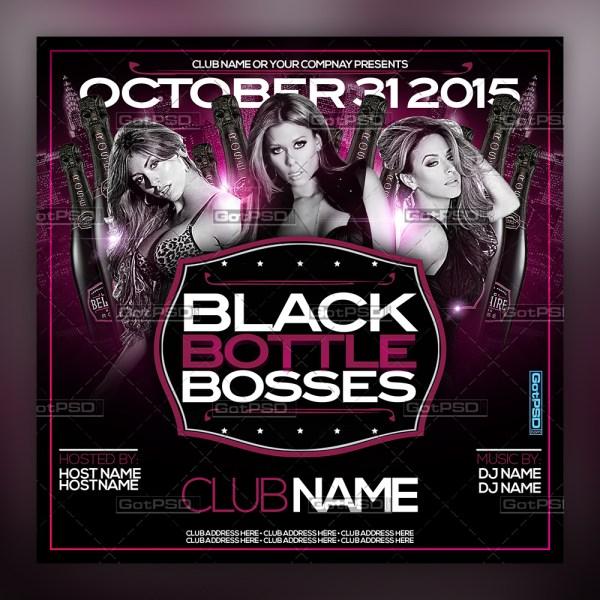Black Bottle Bosses
