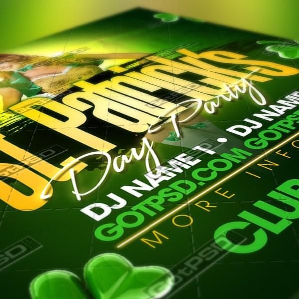 St. Patrick's Flyer - GotPSD.com