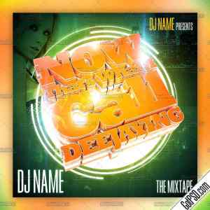 Now That's What I Call Deejaying Mixtape Cd Cover Template - Gotpsd.com