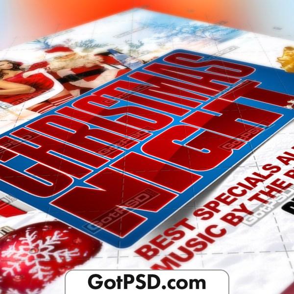 Christmas Night Flyer Psd Template - Gotpsd.com